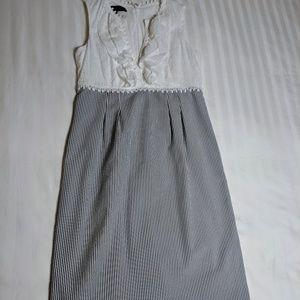 Seersucker Nine West Dress